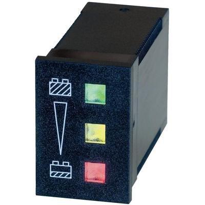 Preisvergleich Produktbild Bauser 824 24 V Schutz Batterie / 824 – 24 V / DC grün: 24 V Gelb: < 24 V 22 V rot: < 22 V Abm. Bauform
