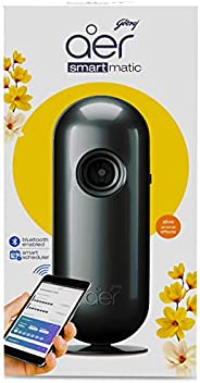 Godrej aer Smart Matic - BLUETOOTH ENABLED Automatic Air Freshener Kit, Alive (2200 sprays)