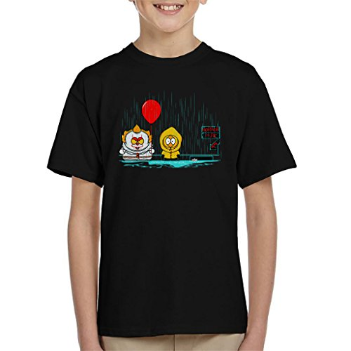 Cloud City 7 It South Park Mix Horror Mix Kid's T-Shirt