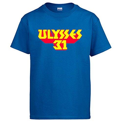 Camiseta Ulises 31 - Azul, 12-14 años