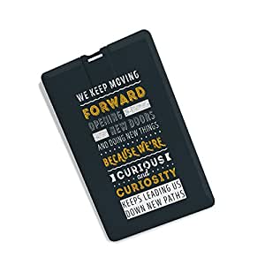 Credit Card Shape Motivational Quote Print Designer 8GB Pen Drive By 100yellow- For Gift