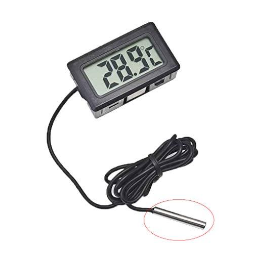 IMHERE W U Digitales LCD-Thermometer für Kühl- / Gefrierkombinationen -50 bis 110 ° C - - Lcd-digital -