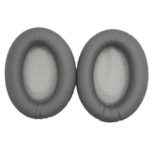 Preisvergleich Produktbild Bobury Ohrpolster Schwamm Earshield Kissen Leder Kopfhrer-Ohr-Abdeckung Headset Earcaps f¨¹r Bose QC15 QC2 QC25