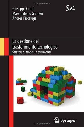 La gestione del trasferimento tecnologico (SxI - Springer for Innovation