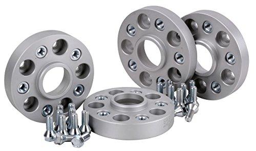 Preisvergleich Produktbild Hofmann Spurverbreiterung Aluminium 4 Stück (24/30mm pro Scheibe/48/60 mm pro Achse) inkl. TÜV-Teilegutachten
