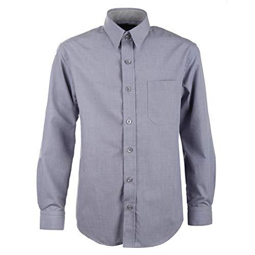 G.O.L. - Jungen festliches Hemd Langarm, grau - 5511900grau, Größe 170