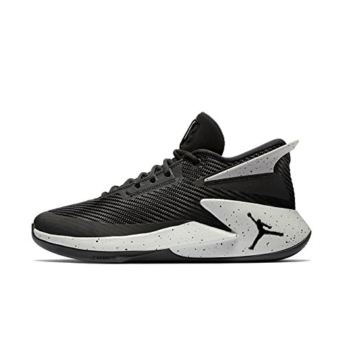 best website 549e9 e3795 7. Nike Herren Jordan Fly Lockdown Schwarz Mesh Synthetik Basketballschuhe  45