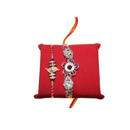 mandala-creations-2pierre-rouge-pour-rakhi-set-avec-haldiram-soan-papdi-rakhi-combo-set