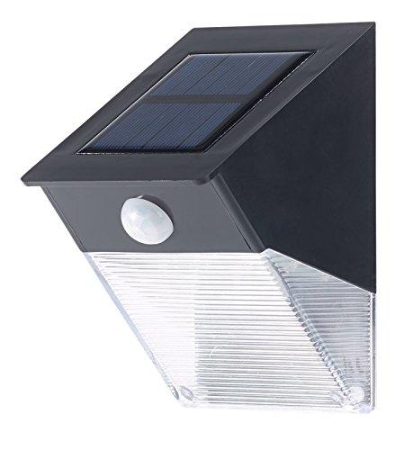 Applique murale solaire LED 6 W avec détecteur de mouvement