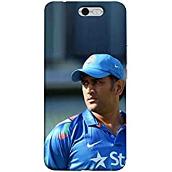 Sibu Print Our Hero MS DHONI/MAHI for MSD Fans Latest Collection Designer Printed Polycarbonate Matte Finish Hard Back Case Cover for InFocus M812