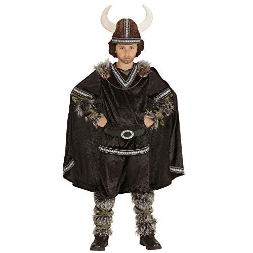 Deluxe Wikinger Krieger Kostüm - Widmann 05986 Kinderkostüm Wikinger, Oberteil,