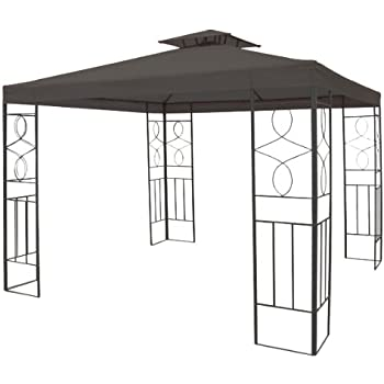 gartenpavillon 3x3m pavillon toscana pavillion beige. Black Bedroom Furniture Sets. Home Design Ideas