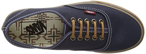 Vans Authentic vee33b2, Unisex - Erwachsene Skateboard-Schuhe Blau (t&g/ombre Blue/gum)