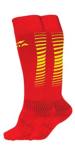 Nivia Encounter Soccer Socks Assorted Colors  available at amazon for Rs.85