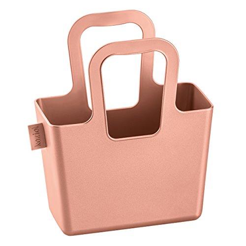 koziol-taschelini-tasche-kunststofftasche-tragetasche-blumenvase-solid-kupfer-h-183-cm-5415622