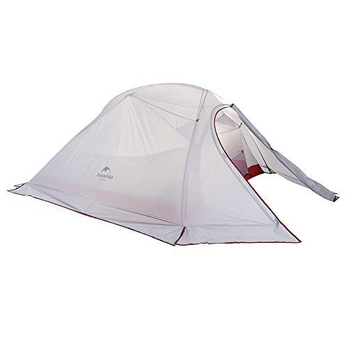 Naturehike Cloud-up Ultra légère 3 personnes étanche Tente double couche Tente de...