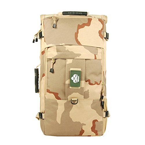 DBZD Borsa a tracolla multifunzionale alpinismo sportiva e sportiva, borsa tattica di camuffamento , color B