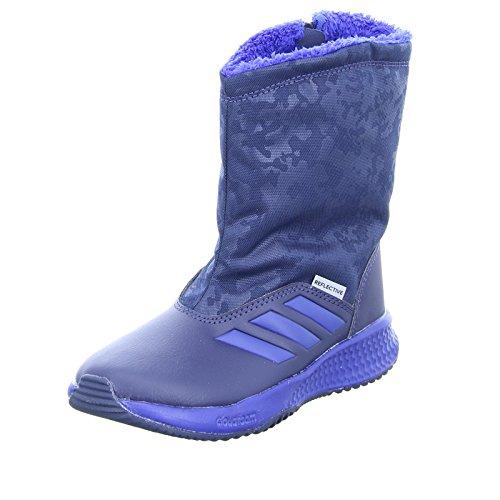 adidas Unisex-Kinder Rapidasnow K Fitnessschuhe, Blau (Maruni/Reauni/Seamso), 33 EU