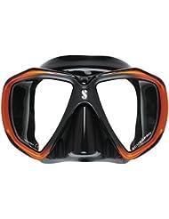 Scubapro Spectra–Máscara, Spectra Mask, negro y naranja
