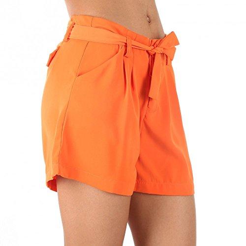 BY Swan–Shorts Fluid bunt helya Orange - Orange