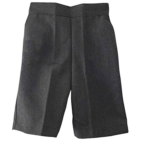 boys-school-shorts-pull-up-elasticated-black-grey-navy-teflon-age-3-4-5-6-7-8-9-10-11-12-26-age-5-6-