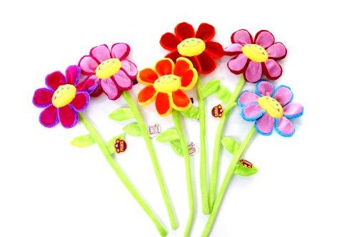 rbenfreudig Blume Auf Flexiblem Gemischtem Stock Färbt ()