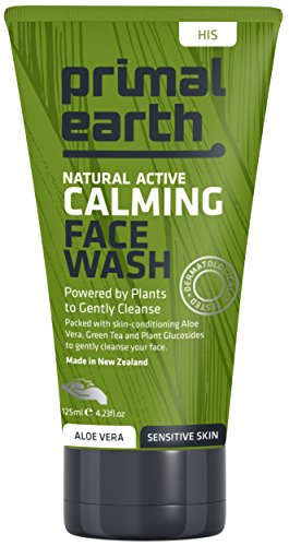 Primal Earth Natürliche Gesichtsreinigung für Sensible Haut - Beruhigendes Gesichtswasser - 125ml