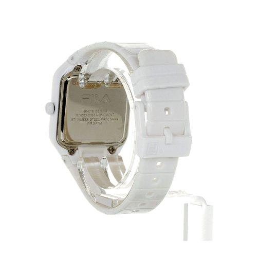 Fila Kinder-Armbanduhr Analog Plastik Weiß FL38018003 - 4