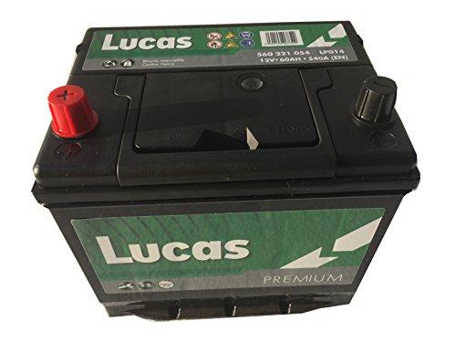 Lucas Batterie Voitures Premium LP014 D23 12 V 60AH 540 AMPS (en)