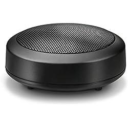 Wavemaster MOBI-2 - Mini enceinte mobile portable Bluetooth rechargeable Noire (3,8 Watts) Avec entrée jack 3,5mm