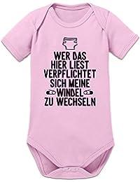 Strampler mit Druck Baby Body Sprenge ich meine Windel in verschiedenen Sprachen