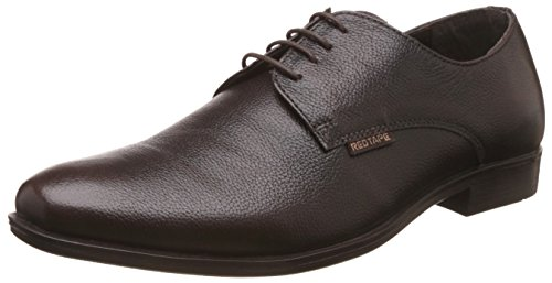 Red Tape Men's Leather Formal Shoes Brown - 8 UK/India (42 EU)(RTE0022)