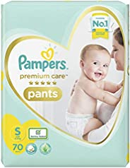 Pampers Premium Care Pants Diapers, Small, 70 Count