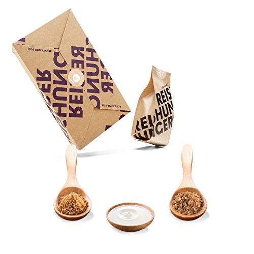 Reishunger Milchreis Box (4-teilig, 2-4 Personen) Original Zutaten bester Qualität für Milchreisgerichte - Perfekt auch als Geschenk