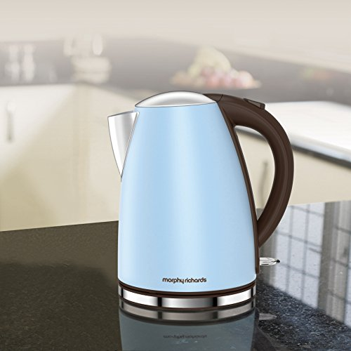 Morphy Richards 103002 Accents Jug Azure Blue Kettle