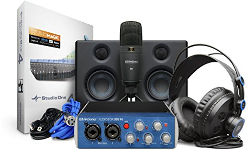 Kit de grabación de hardware/software PreSonus AudioBox Studio Ultimate Bundle con monitores de estudio