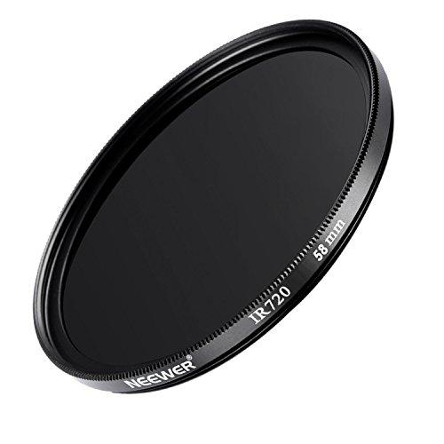 Neewer 58MM Hochwertiges optisches Glas Infrarot-Objektiv-Filter für Kodak/Sony/Fuji/Canon mit 58 mm-Objektiv