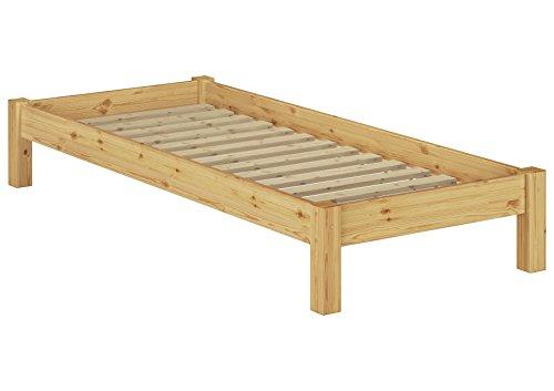 Erst-Holz 60.35-09 Futonbett mit Rollrost - 90x200 - Massivholz Natur