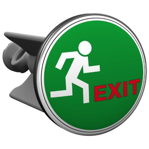 Plopp bonde Exit, pour lavabo, bonde, bonde Excenter, déversoir