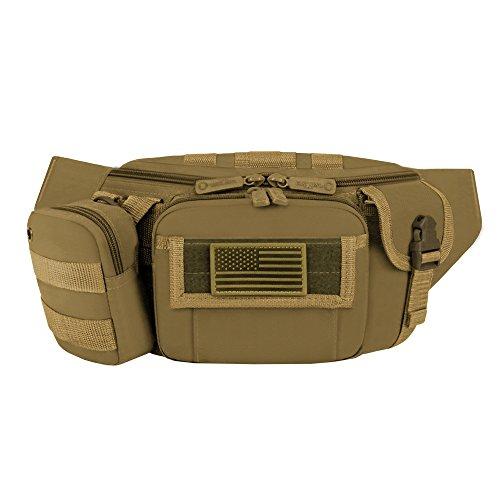 East West EE. UU. rf104táctica cintura Fanny paquetes East West U.S.A