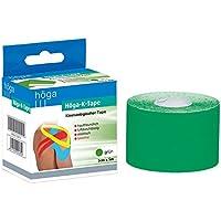 Preisvergleich für Höga Pharm kinesiologischer Tape, 5 cm x 5 m, grün, 1er Pack (1 x 97 g)