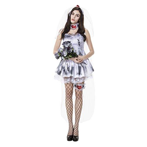 Ladies Halloween Ghost Fancy ()