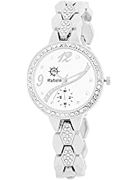Rabela Women's Analogue White Dial Watch RAB-830