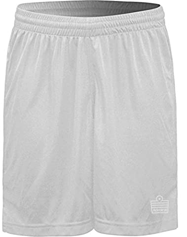Admiral Club Ready-to-Play Soccer Shorts, White, Adult