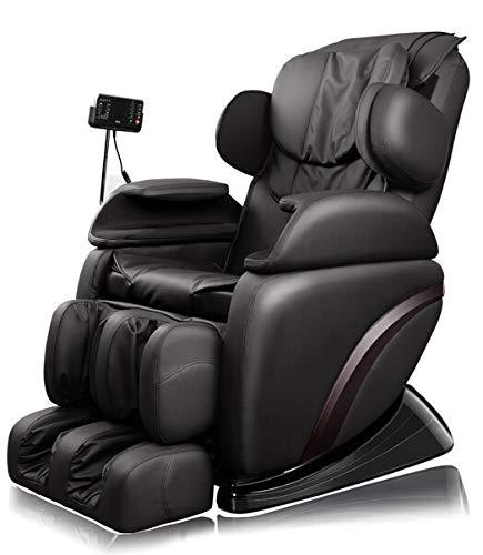 Home Deluxe - Massagesessel - Siesta schwarz V1 - inkl. komplettem Zubehör