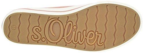 s.Oliver 5-5-24635-38, Scarpe da Ginnastica Basse Donna Rosa (OLD ROSE 512)
