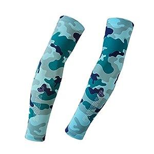 QJHP Sonnenschutz UV Arm Ärmel Unisex Camo Design Sonnenblende Manschette Perfekt Geeignet Für Outdoor-Aktivitäten Wie Radfahren, Wandern
