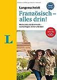 Langenscheidt Französisch - alles drin!  - Basiswissen Französisch in einem Band: Wortschatz und Grammatik - nachschlagen, lernen und üben