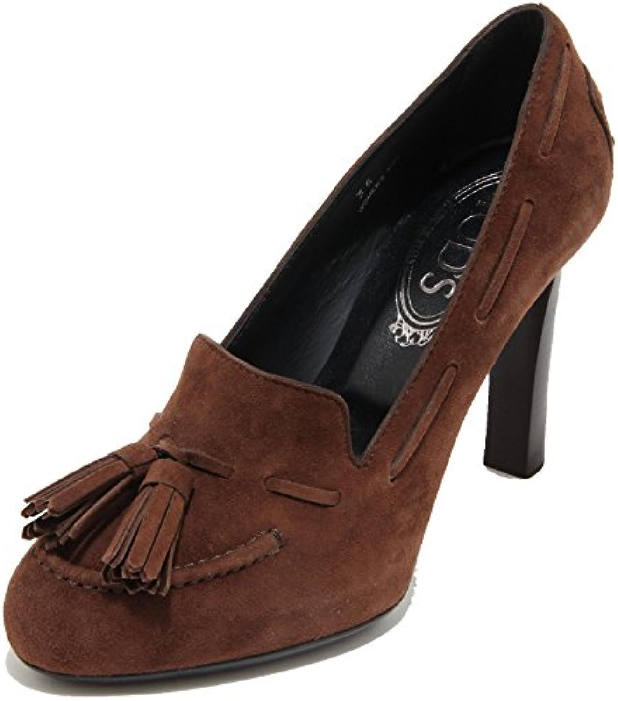 Tod's Tod's Tod's 62823 Decollete Scamosciato Nappine Scarpa Donna scarpe donna | lusso  00eccf