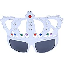 Arredamento e forniture scuola prima infanzia LUOEM Occhiali Slinky Halloween Gag Joke Slinky Occhiali Disguise LED Drooping Eyes Occhiali da vista Bulbi oculari Giocattoli per bambini blu